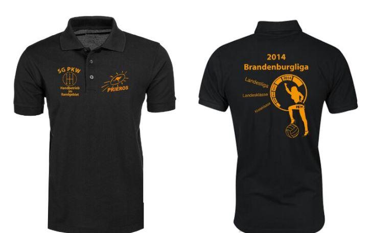 Aufstiegsshirt der SG PKW 2013/14