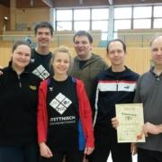Siegerteam beim Freizeitturnier