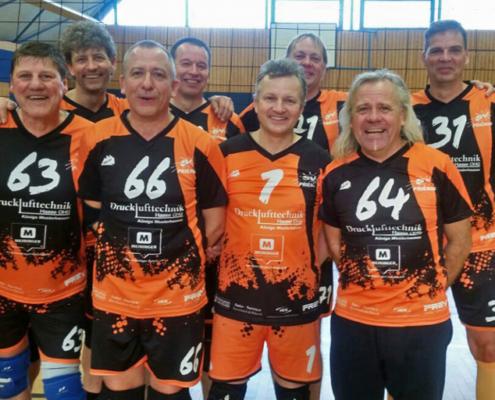 Mannschaftsfoto ü47 Senioren in der Saison 16/17